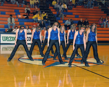 Marshall County Dance Team Performance December 6, 2007