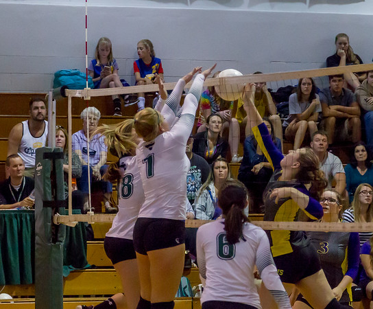 Set three Games one and two: Varsity Volleyball v Concrete 09/11/2017