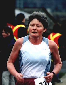 2002 Pioneer 8K - 100 marathon finisher Janet Green
