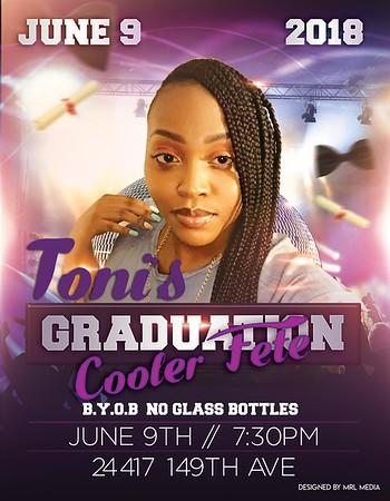 06/09/18 Toni's Graduation Cooler Fete