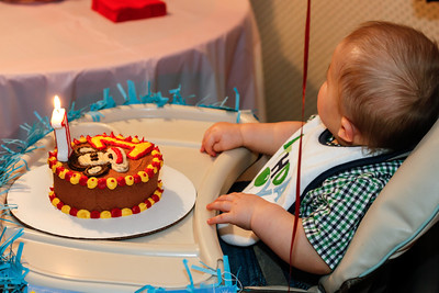 2012 Oct 06-John Patrick's 1st Birthday