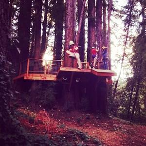 Summer Adventure Camp - Sequoia Adventure Course  - August 5, 2015