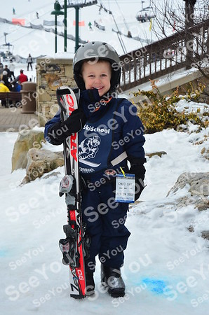 Tiny Tots Ski School 2-24-13