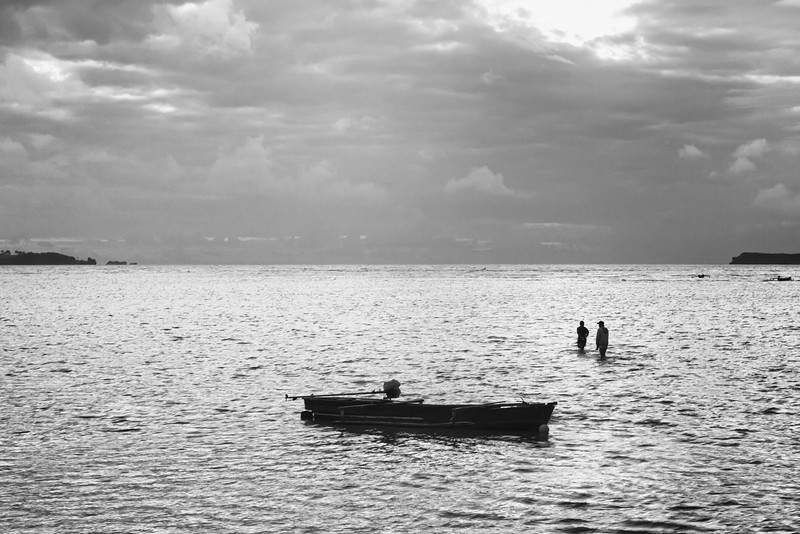 Two Fishermen and Their Sea