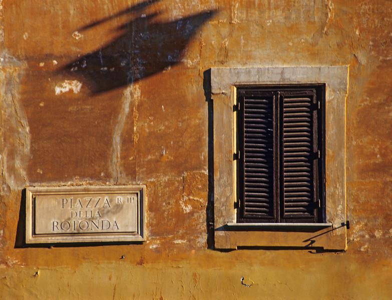 Rome Architecture - Piazza della Rotonda (Italy)