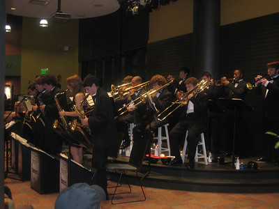 Playing @ the Plaza- Hoover High School Jazz Band October 15, 2009
