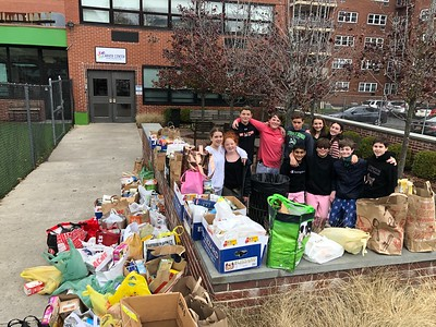 WMS Thanksgiving Drive Donations to Carver Center - November 22, 2019
