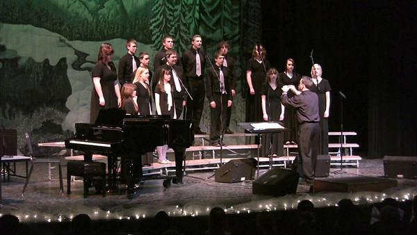 VIDEO Winter Concert Chamber Choir Earth Song