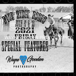 Blue Ridge Rodeo Friday Special Features