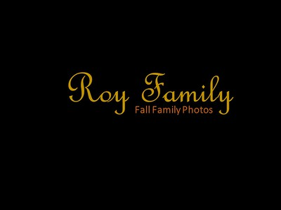Roy Family Photos