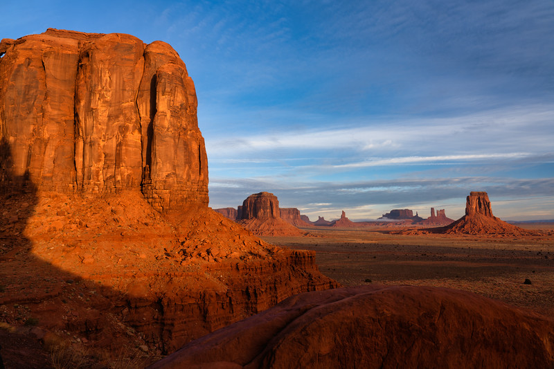 View From North Window, Monument Valley