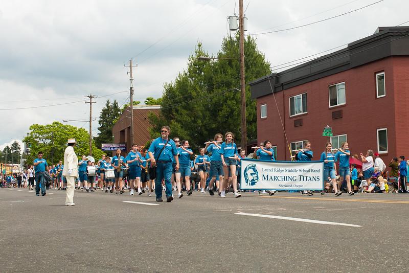 Junior Rose Fest Parade 2015