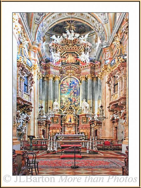 St. Peter's Church 1st district - built 1701 by Lukas von Hildebrand Very barock