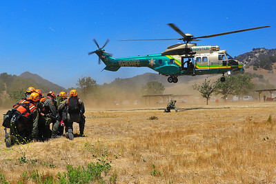 LASD Malibu SAR Annual Helicopter Recertification (2013)