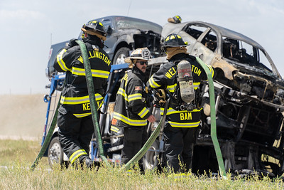August 13 Vehicle Transport Fire