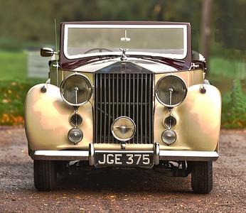 1951 ROLLS ROYCE SILVER WRAITH  JGE375