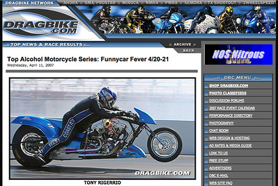 "DRAGBIKE.COM ""TOP NEWS"""
