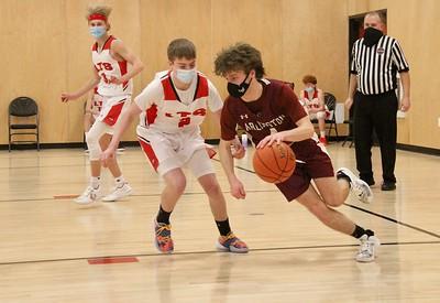 AMHS Boys Varsity Basketball vs LTS photos by Gary Baker
