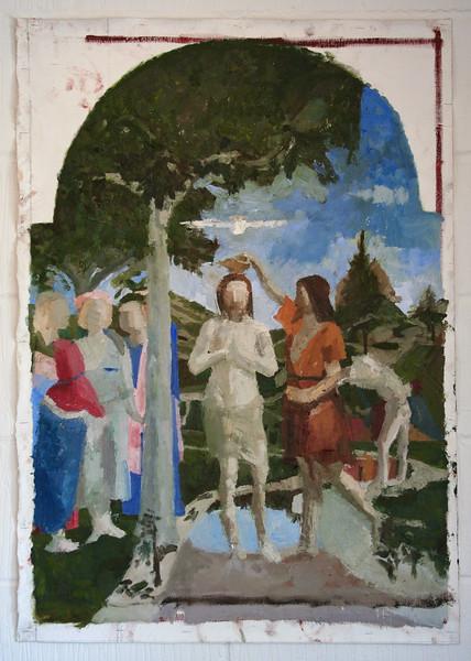 Aschely Cone after Piero della Francesca