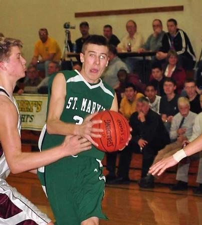 20110303 St. Mary's Boys Basketball