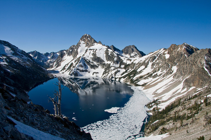 Sawtooth Lake in July