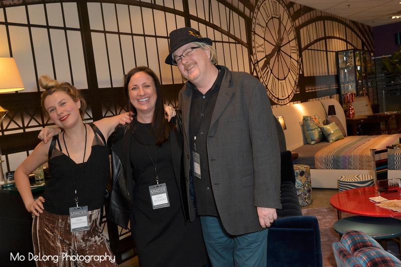 Kasia Pawlowska, Leah Bronson and Dan Jewett