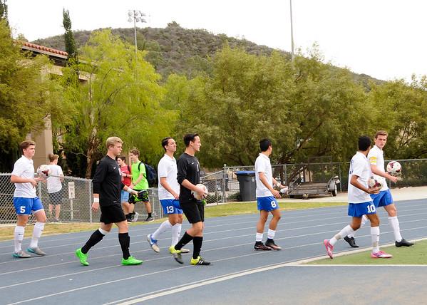2016 - Boys Varsity Soccer vs Orange Lutheran