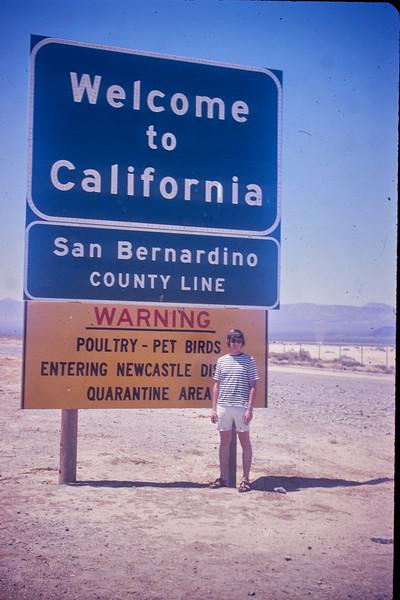 California A Trip 1972