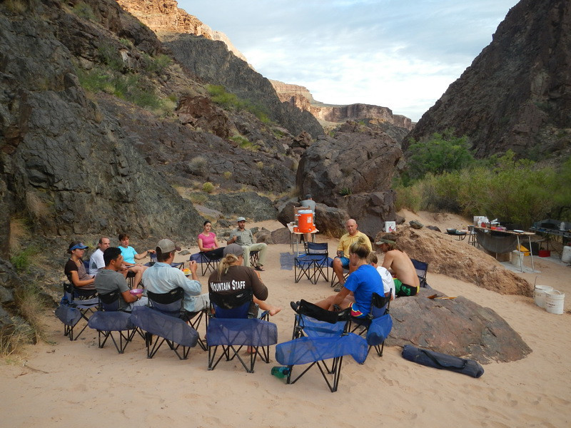 First night camp. The Schist at mile 96.5.