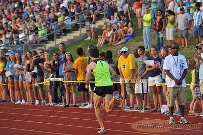 Athlete Intros, Ron Warhurst Mile - 2014 Michigan Track Classic