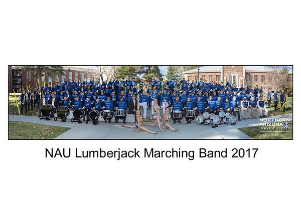 NAU Lumberjack Band 2017