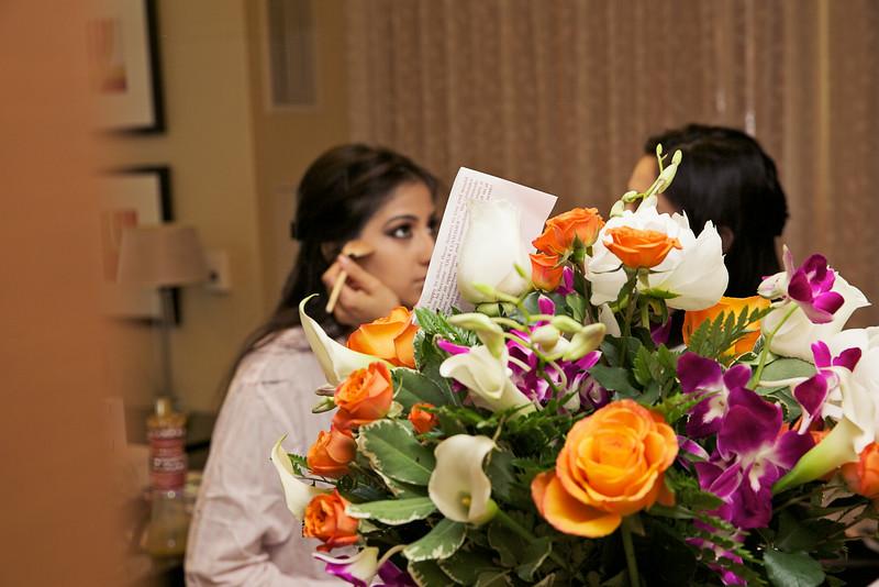 Le Cape Weddings - Indian Wedding - Day 4 - Megan and Karthik Bride Getting Ready 2.jpg
