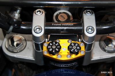 Ralle-Moto Steering Damper