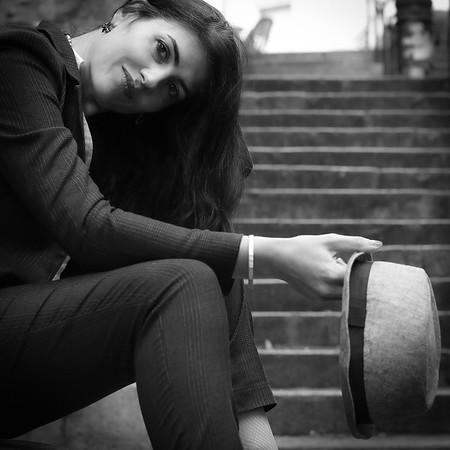 Charlotte Lasnier, Un Jour D' Octobre 2019, à Montmartre