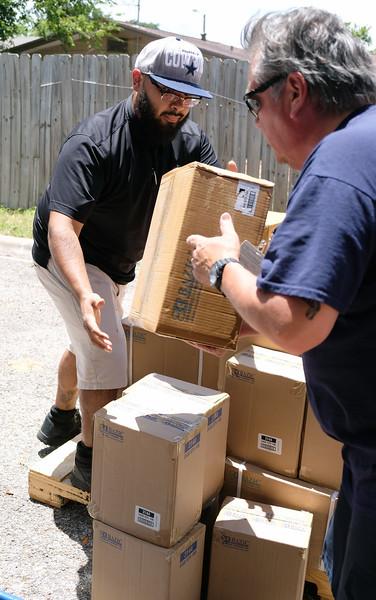 071719 Operation SOS CCISD school supply distribution