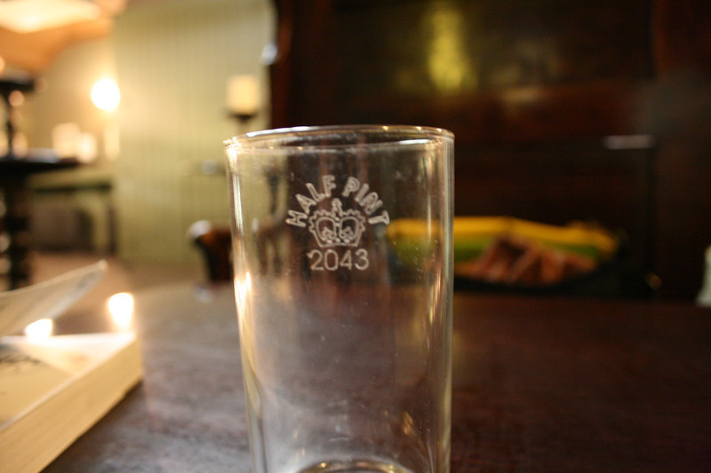 All the pint (imperial) and half pint glasses are certified.