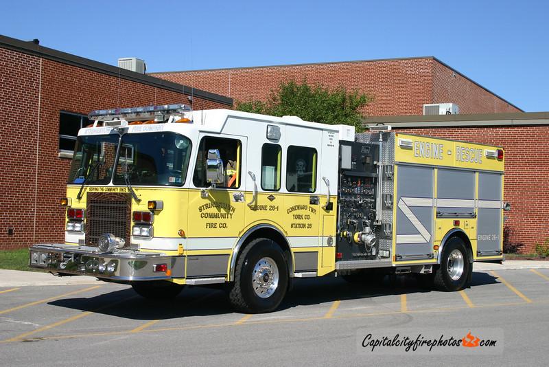 Strinestown Engine 26-1: 2003 Spartan/New Lexington 1750/1000