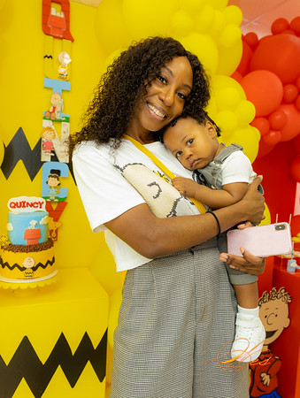 QUINCY'S 1ST BIRTHDAY PARTY
