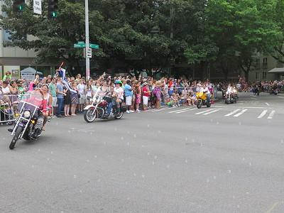 Seattle PrideFest Parade,  June 28, 2015