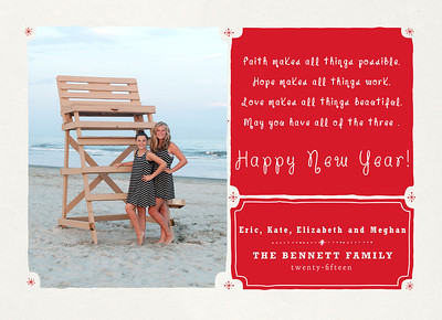 Bennett Family Holiday Card