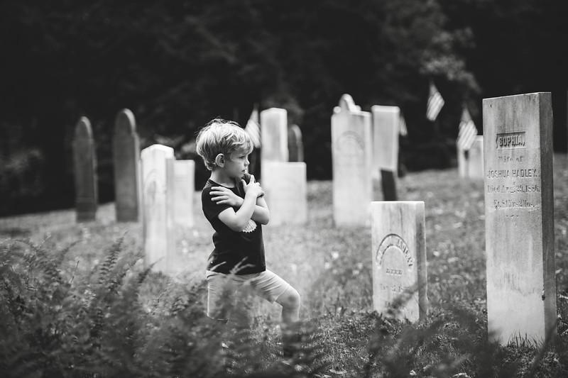 Cemetery Visit