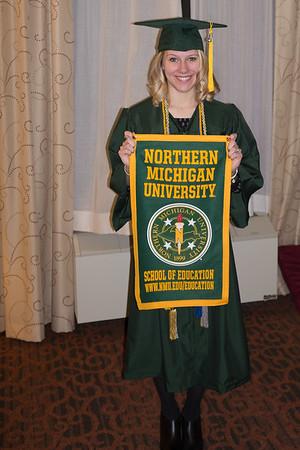 Elizabeth NMU Graduation 12/12/15
