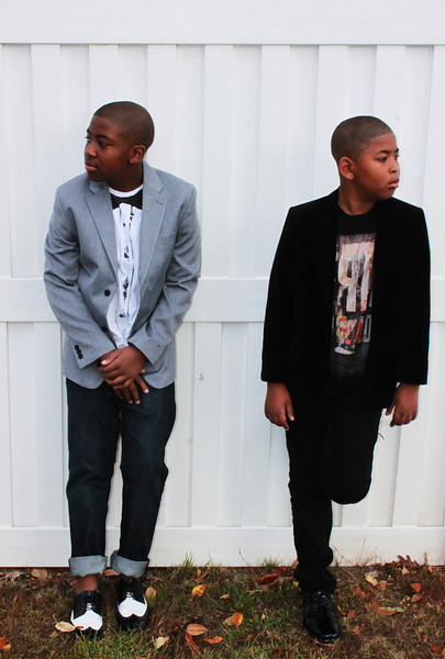 Jamari and Jaden Photoshoot 2012 by Mommy