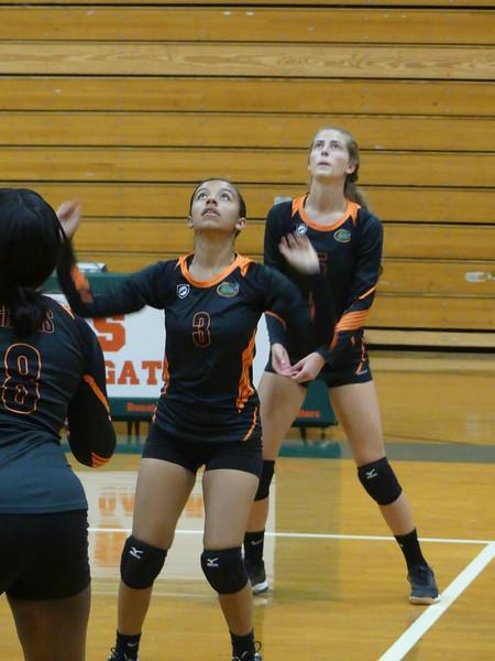 ECHS Volleyball 9/27/18
