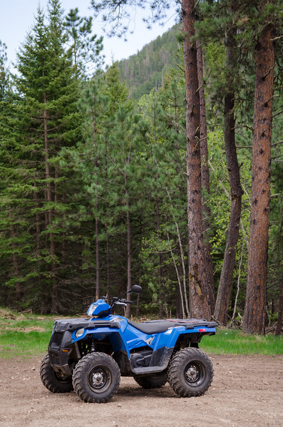 ATV In Black Hills