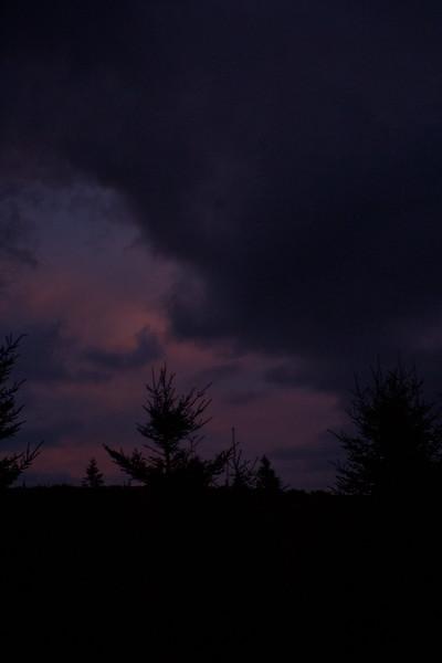 Storm Clouds in Cape Breton in Nova Scotia