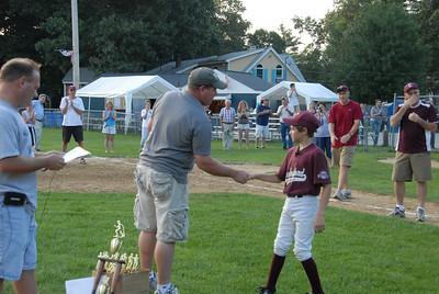 Summer Baseball Championship Game Tyngsboro July 30