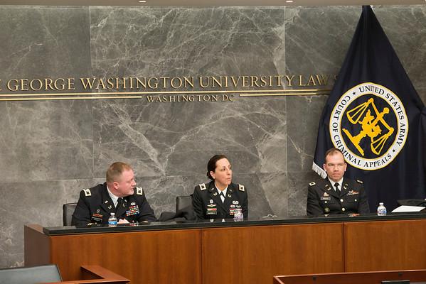 Military Law Society Oral Argument in United States v. Semeniuk-Hauser