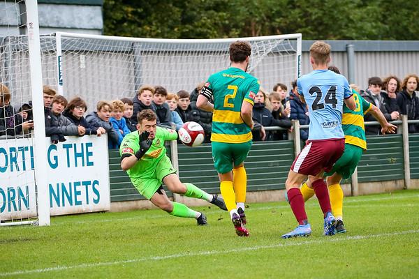 Runcorn Linnets v Gateshead FA Cup 3rd Qualifying Round 02-10-21