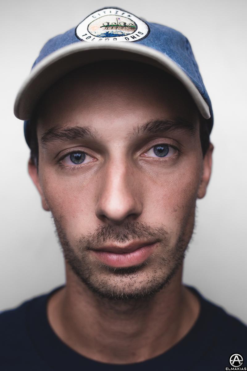 Backstage Portrait of Eric Hamm of Citizen at Vans Warped Tour by Adam Elmakias